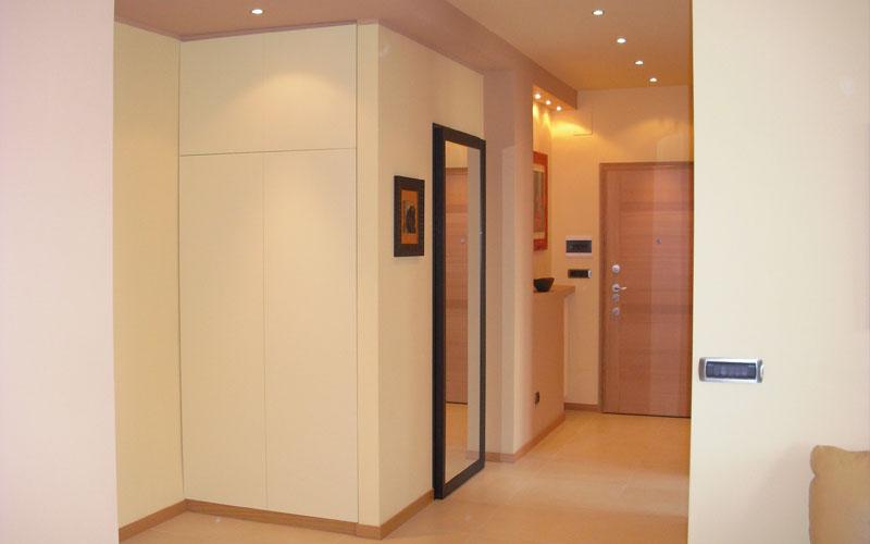 Specchio porta best armadio moderno in legno con porta - Porta a specchio ...